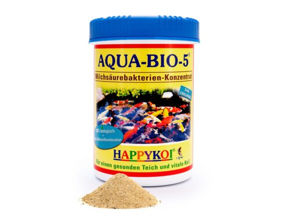 AQUA BIO 5 Maxi Dose 1000 ml HAPPYKOI Milchsäurebakterien Konzentrat
