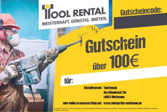 Gutschein über 100€